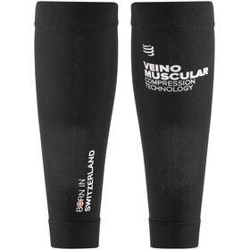 Compressport R2V2 Calf Sleeves Ironman Edition Black